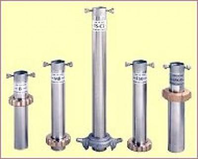 Ống thước & đồng hồ đo áp suất khí trơ