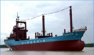 Bàn giao lắp đặt sinh hàn LH41 (AIR COOLER FOR HANSHIN LH41) cho tàu